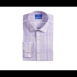 Men's Apt. 9® Slim-Fit Stretch Dress Shirt M
